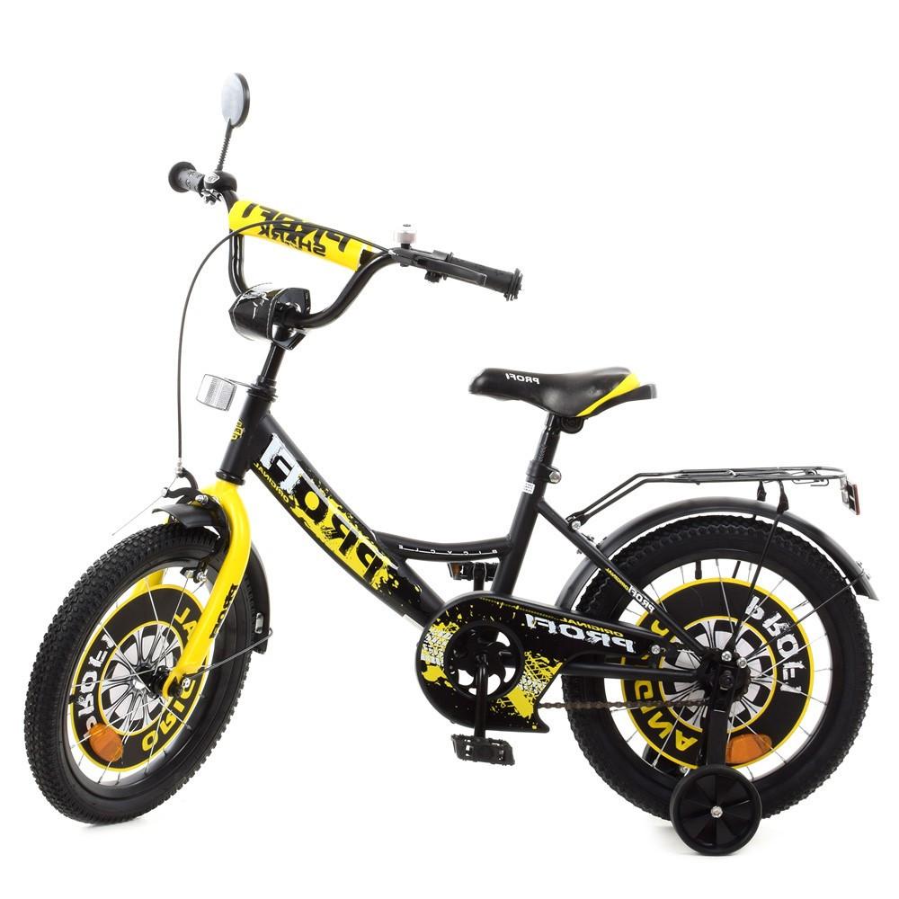 Влосипед двухколесный для детей 5-8 лет, колеса 16 дюймов, багажник, д