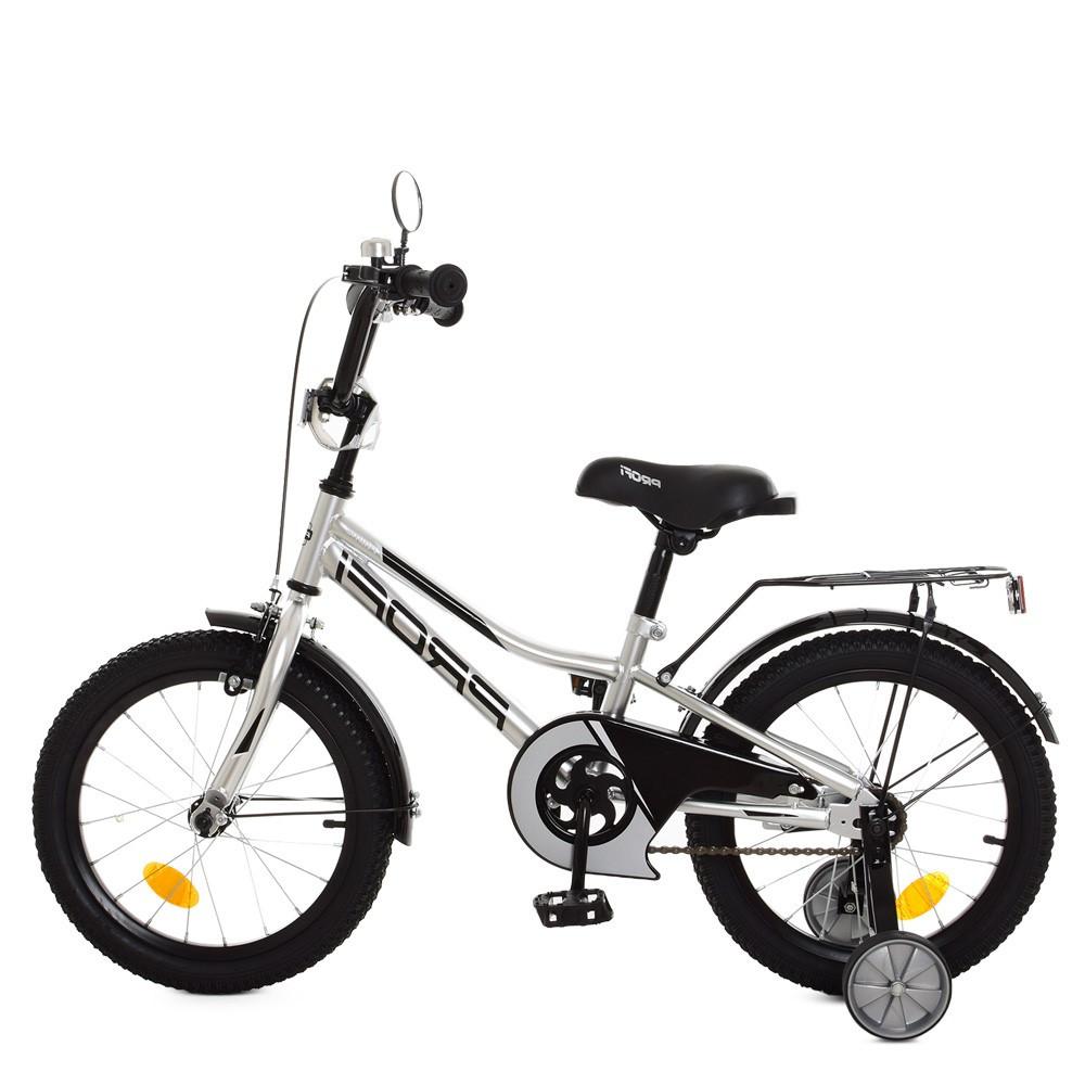 Влосипед двухколесный для детей 5-8 лет, колеса 16 дюймов, стальная ра