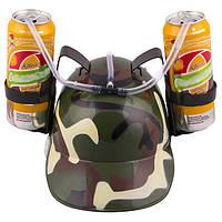 Шлем для пива Камуфляж (Хаки)