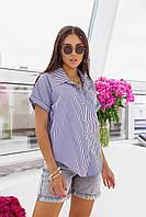 """Сорочка жіноча молодіжна в клітку, розміри 42-48 (3ол) """"MILANI"""" купити недорого від прямого постачальника"""
