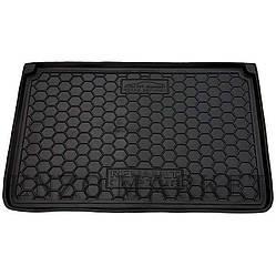 Автомобільний килимок в багажник Renault Captur 2015 - верхня полиця (Avto-Gumm)
