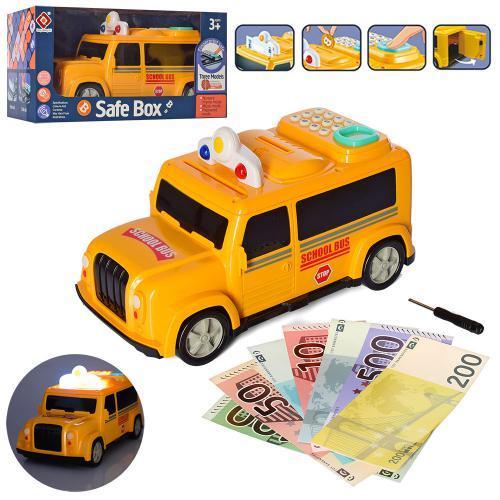 Скарбничка дитяча 589-12A Шкільний автобус