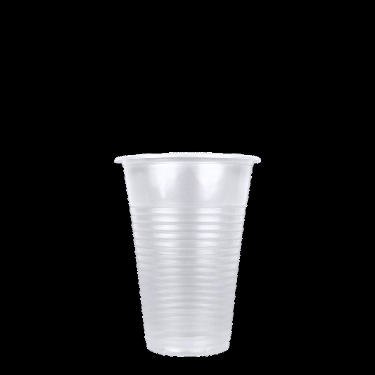 Стаканы пластиковые прозрачные 180 мл