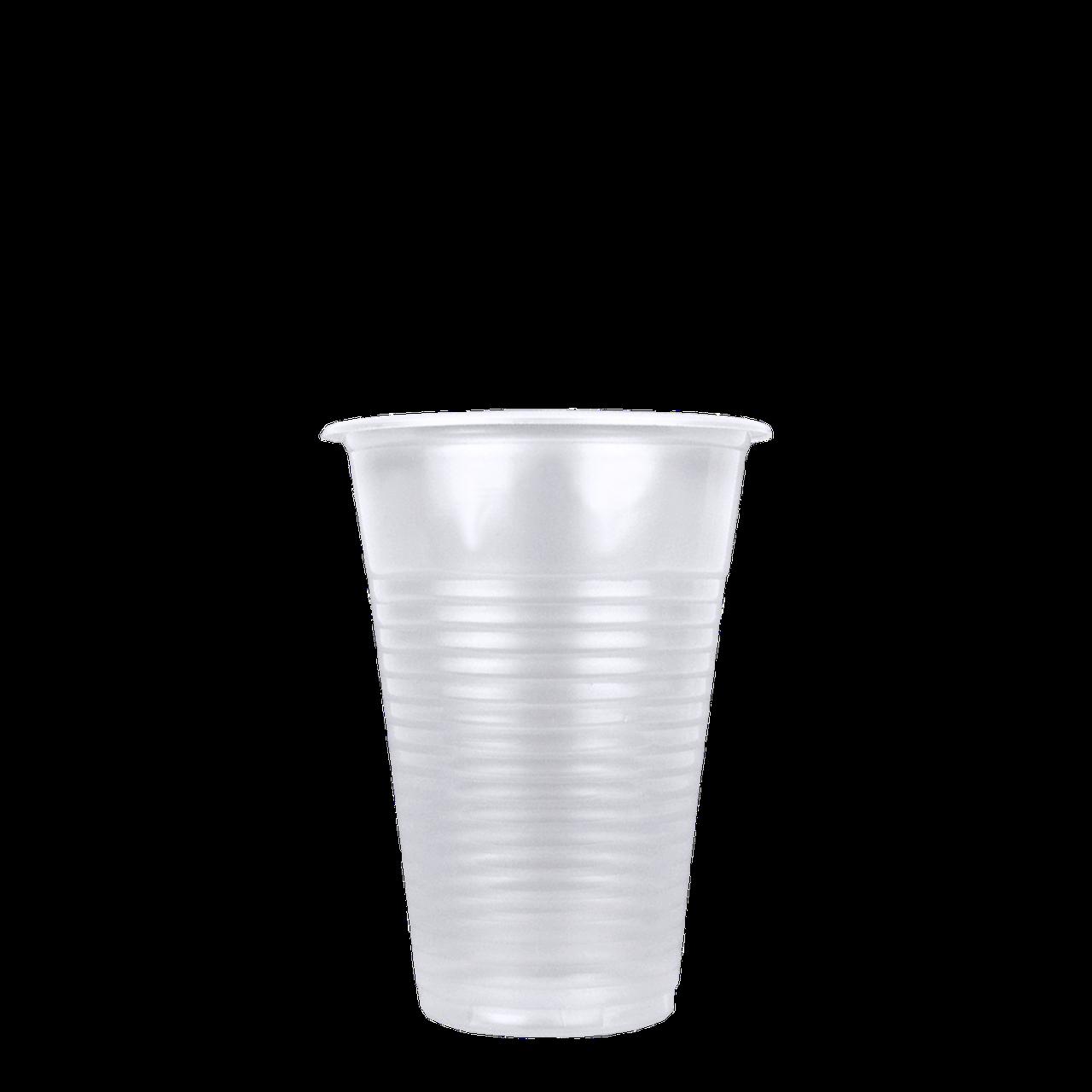 Стаканы пластиковые прозрачные 200 мл