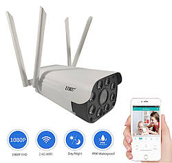 IP Камера видеонаблюдения беспроводная уличная UKC CAD 23D Wi-Fi камера видеонаблюдения с записью (GK)
