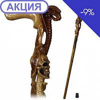 Трость Кобра и Череп GC-Artis Snake-Skul WP-011L