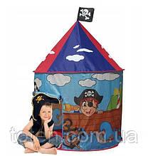 Намет 105-105-125 см дитячий Будиночок Пірата вхід-накидка M 3317
