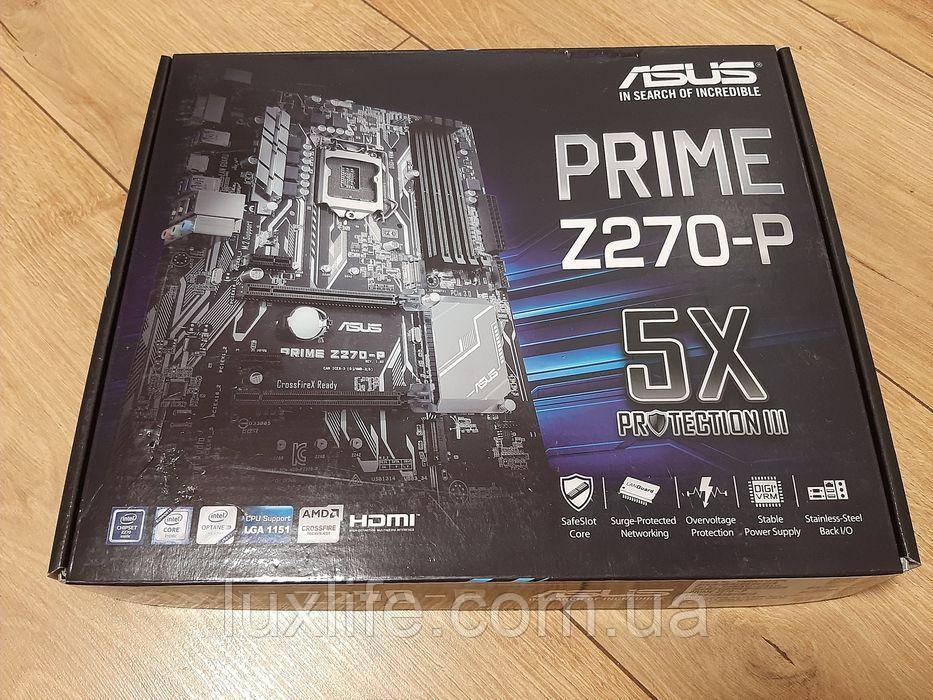 Asus Prime Z270-P (8×GPU)Б/У