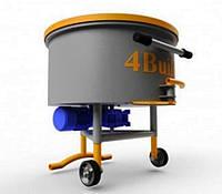 Примусовий бетонозмішувач БП2- 200\100, фото 1