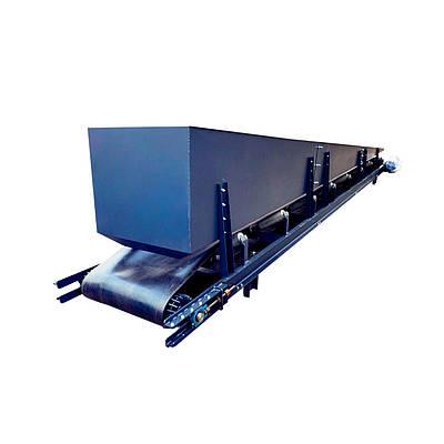 Конвеєр стрічковий в коробі ТЛК, закритий стрічковий конвеєр стрічковий транспортер