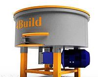 Примусовий бетонозмішувач, розчинозмішувач БП2 - 600\300
