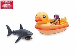 Іграшка Роблокс Акула і Човен Качка - SharkBite: Duck Boat W2