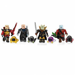 Іграшка Роблокс 4 фігурки - Four Figure Pack Dominus Dudes W7