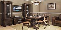 Эксклюзивная дубовая мебель Картиса для гостиной комнаты