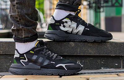 Кроссовки мужские Adidas Nite Jogger x 3M