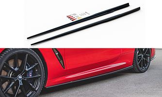 Пороги BMW G15 M850 элерон тюнинг обвес