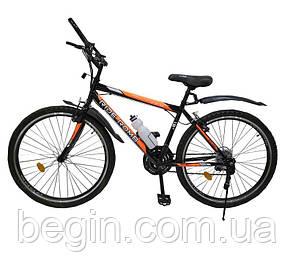 Велосипед SPARK RIDE ROMB V.21 26-ST-18-ZV-V (Черный с оранжевым)