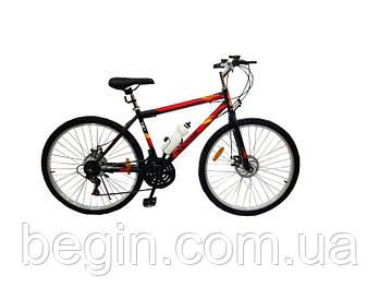 Велосипед SPARK RIDE ROMB D.21 26-ST-18-ZV-D (Черный с красным)
