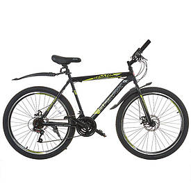 Велосипед SPARK FORESTER 26-ST-20-ZV-D (Черный с желтым)