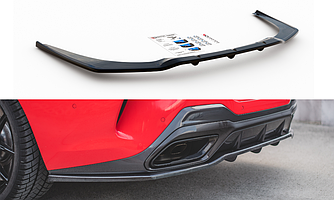Диффузор BMW G15 M850 элерон тюнинг обвес (V2)