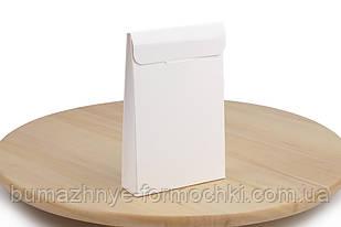 Коробка-саше для батончиків, білого кольору, 100х30х150 мм (10 штук)