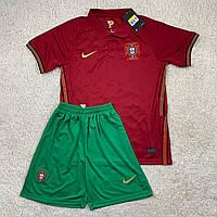 Футбольная форма Сборной Португалии 2020 бордовая