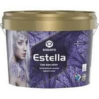 Глубокоматовая акрилатна інтер'єрна фарба одного шару Eskaro Estella 2.7 л.