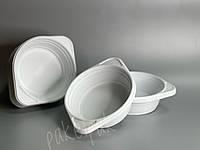 Тарелки одноразовые пластиковые суповые (уп-100 шт)