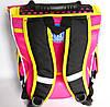 Каркасный рюкзак-короб с ортопедической спинкой для девочки, Девочка с кошкой, фото 4