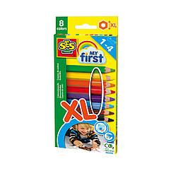 Набор цветных карандашей SES Creative My First (8 цветов) 14416