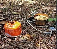 Походная газовая горелка Tramp (паук,краб) с переходником