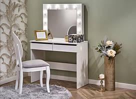 Туалетный столик HOLLYWOOD белый 140х43х94 (Halmar)