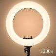 Кольцевая лампа светодиодная на штативе HQ 18, 45 см., фото 6