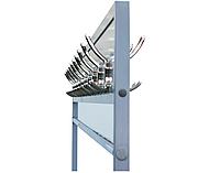 Вешалка офисная гардеробная ВОГ-2000, Н1850*2000*350 мм