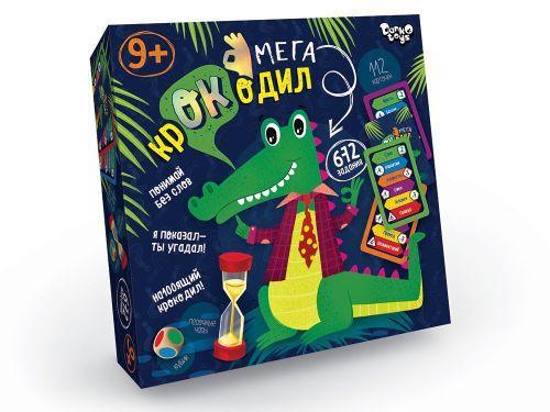 Настольная игра викторина Мега-крокодил рус CROC-03-01