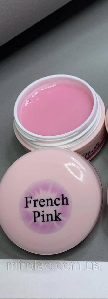 Гель 50г для наращивания FRENCH PINK Adrian nails