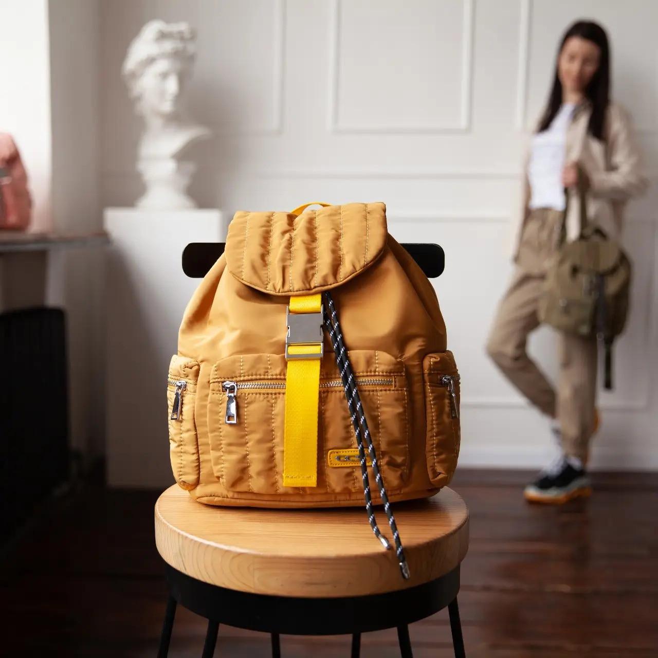 Рюкзак для прогулок стеганый