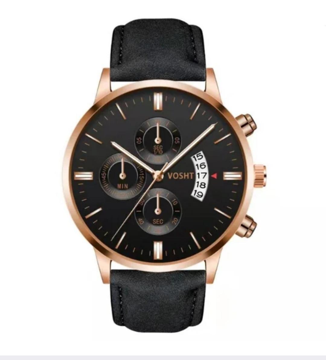 Мужские кварцевые часы Vosht