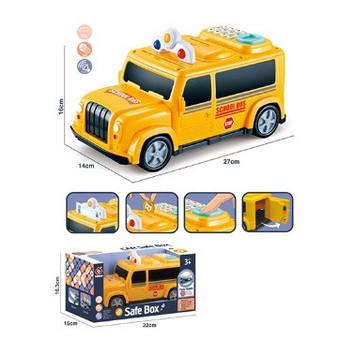 Машина-скарбничка,сейф з кодом,муз.,зв(англ),світ.,на бат-ці,в кор-ці,32х16,5х15 №589-12A