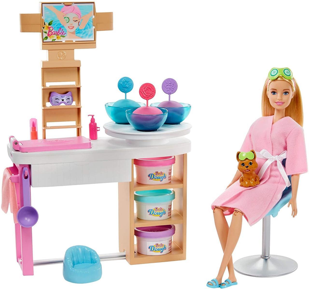 Лялька Барбі Блондинка і набір СПА догляд за шкірою Barbie