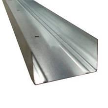 Профиль направляющий UW-75/40 (усиленный 0,5 мм), 4м
