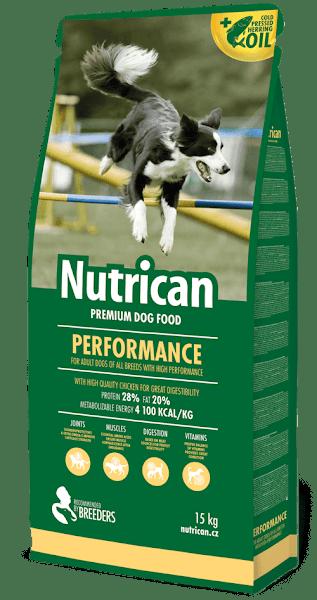 Nutrican Performance Сухой корм для взрослых активных собак всех пород 15 кг