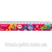 Лінійка пластикова Kite Jolliers К19-090-1, 15 см