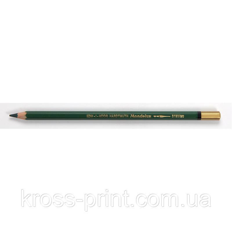 Карандаш акварельный MONDELUZ dark green/темно-зеленый
