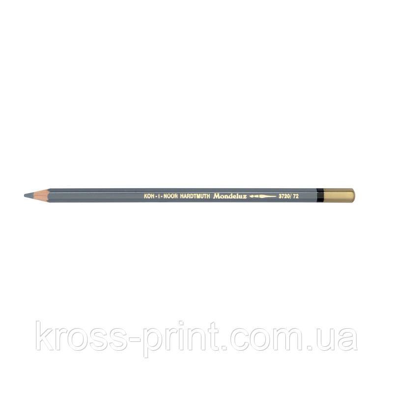 Карандаш акварельный MONDELUZ slate grey/аспидно-серый