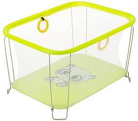 Детский манеж игровой KinderBox солнышко Желтый SUN 4336, КОД: 2383853