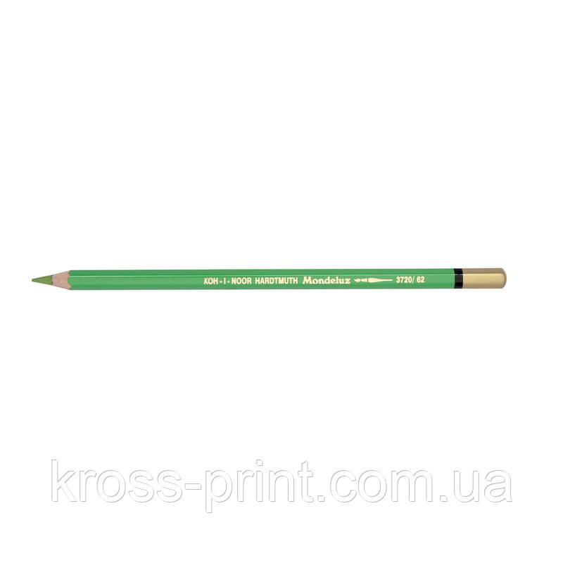 Карандаш акварельный MONDELUZ apple green/ясно-зеленый