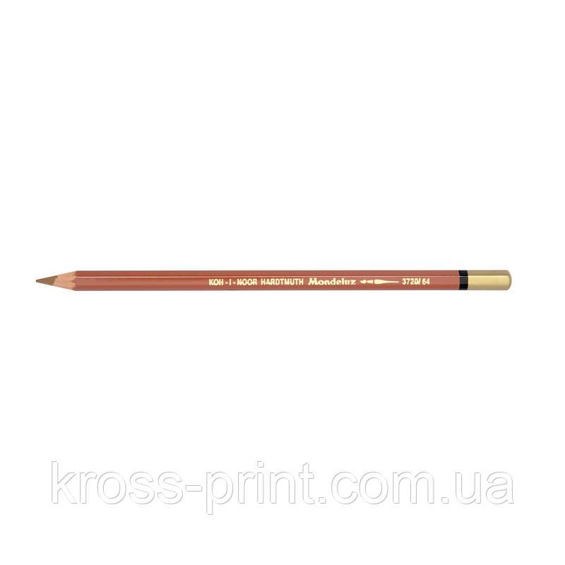 Олівець акварельний MONDELUZ burnt ochre/охра паленная