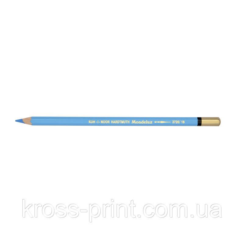 Олівець акварельний MONDELUZ cerulean синій/блакитний синій
