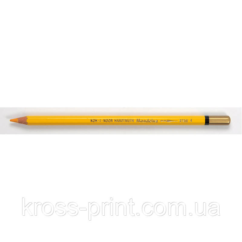 Олівець акварельний MONDELUZ dark yellow/темно-жовтий